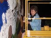 of the immigrants mural: y yo ya estaba!  i was already here! 2