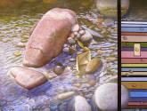 """en el rio """"codigo de color"""""""