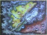 Lagrimas sobre el lienzo