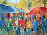 el mercado de sineu (mallorca)