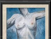torso azul