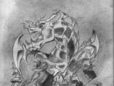 dragon armado