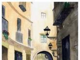 arco del barrio gótico (barcelona)