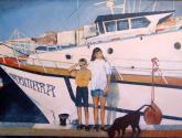 nens i la barca
