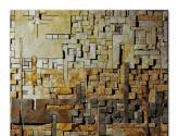abstract  mosaic stone