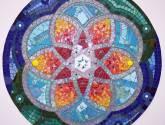 mosaiquismo mandala en mosaico