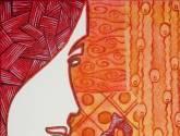 dama de pelo rojo i