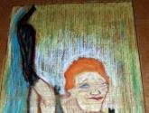 Estudo de Toulouse Lautrec