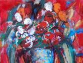 jarron con flores iv