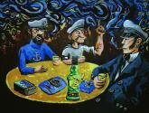 marineros en el bar