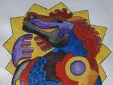 caballo bajo sol tiwanacu