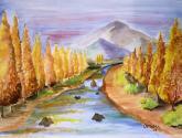 alameda en otoño