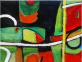 SOLO DOS COSAS abstracto,Obras de arte