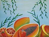 mistura de frutas