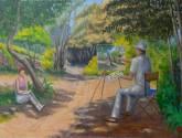 EL pintor y los verdes de Mayo