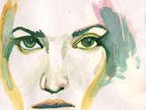 retrato femenino serie 4