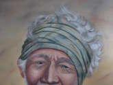 saban arte  -  hermanosaban - saban pinturas - guatemala - old man