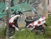 motocicleta     -        de como una motocicleta ...se convierte en una gatocicleta