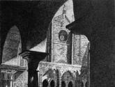 claustro da catedral de tui