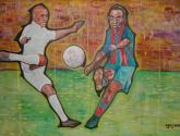 Ronaldo versus Ronaldinho - Real Madrid versus CF Barcelona