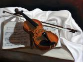 violin sobre partitura