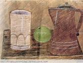 bodegon con vaso blanco no1
