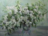 primaveral en blanco