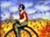 hombre con monociclo i
