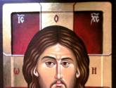 jesus christ 36 x 24 cm egg tempera on wood