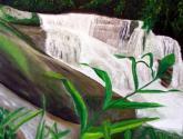 Waterfall of Pedra Branca