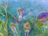 espiritus verdes del portal del cielo de caparao