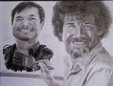 Jim Lee y Bob Ross