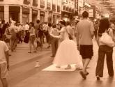 bailarina de calle