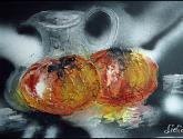 fruta madura-pintura