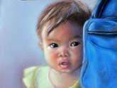 niña camboyana