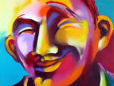 cara somrient
