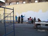 of the immigrants mural: y yo ya estaba! i was already here!32
