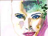 retrato anilinas serie . 2