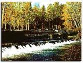 río umia a su paso por la villa termal