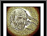 080 / dc 28  el viejo pensador (autorretrato)