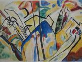 Estudio III, Copiando a Kandinsky