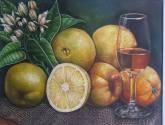 bodegon con naranjas ombligonas