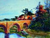 puente en besalu - gerona