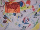 la abstracción de kandinsky y el bisonte de altamira