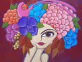 divina y floreada