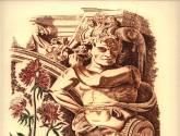 capiteles y flores - orden barroco