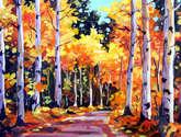 beauty of season forest