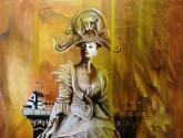 la dama de cheshire