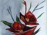 jarron con flores