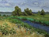 a las orillas del río